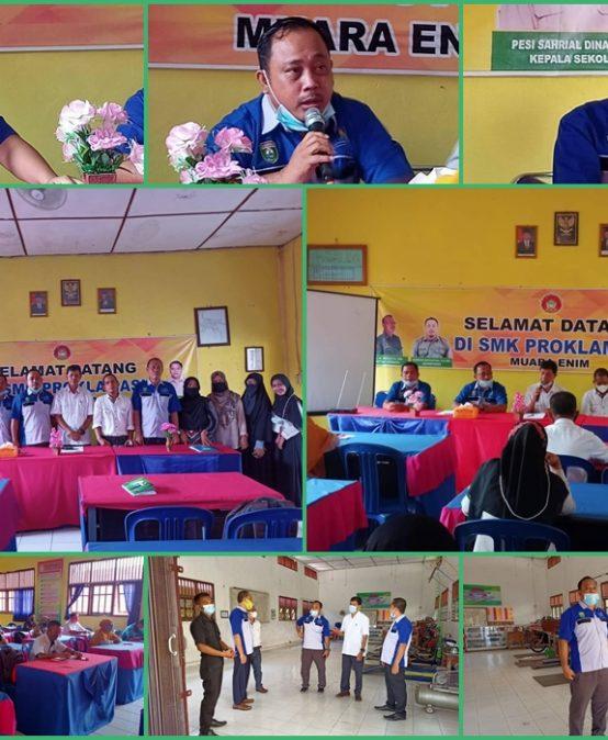 Kunjungan TVRI Stasiun Palembang Ke SMK Proklamasi Muara Enim