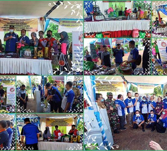 Launching Produk dan Inovasi SMK Proklamasi Muara Enim