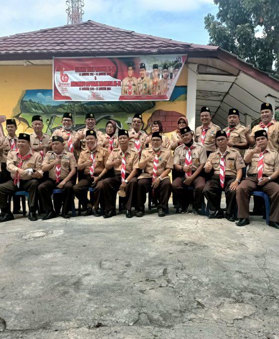 Kunjungan Kwarcab Kota Prabumulih Tahun 2021
